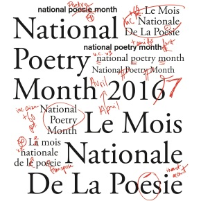 April Events for National Poetry Month!