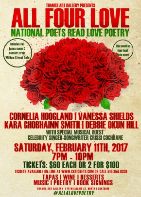 Are you in the mood for LOVE…poetry, music? Come todinner!