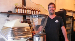 Dave Duguay, owner of the new Blackwater Coffee Company on Christina. Cathy Dobson