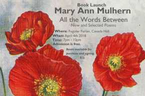 A New Book for Mulhern! Book Launch April 4,2018!
