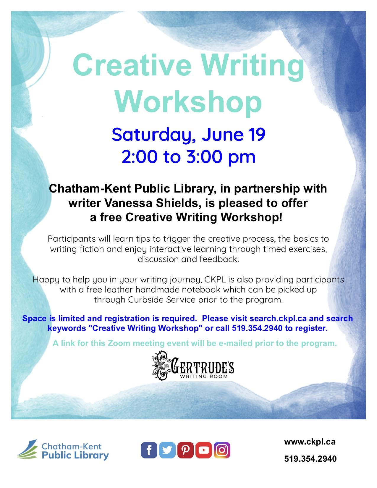 CKLIBRARY2021Workshop Poster
